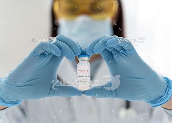 عکس واکسن کویید 19
