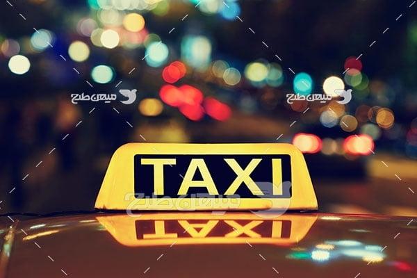 عکس تاکسی