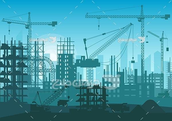 وکتور ساختمان سازی