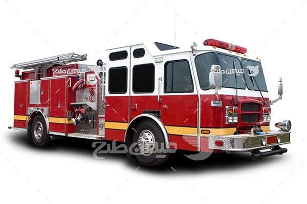 عکس تبلیغاتیماشین آتش نشانی