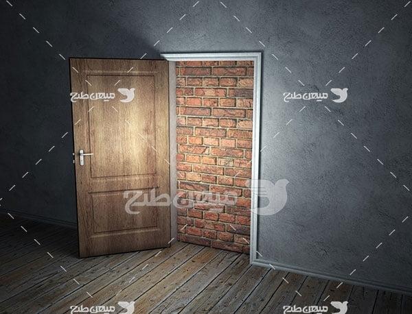 عکس دری به سوی بن بست