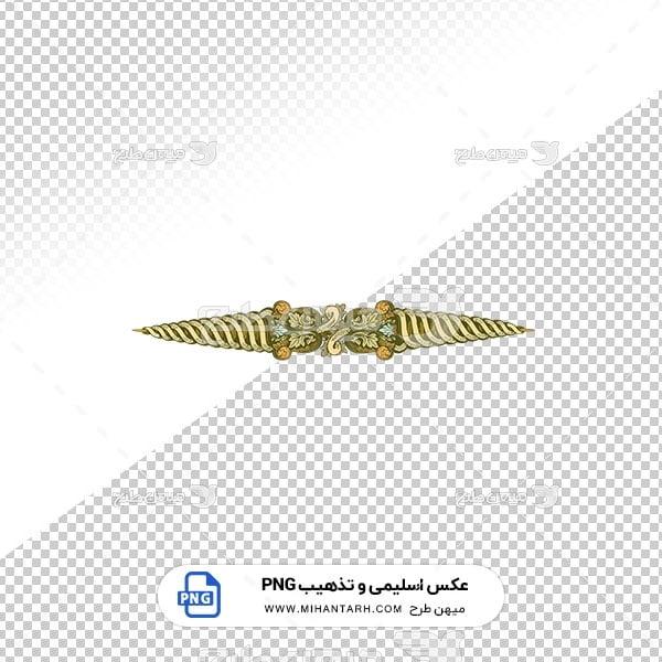 عکس برش خورده اسلیمی و تذهیب طرح سر برگ