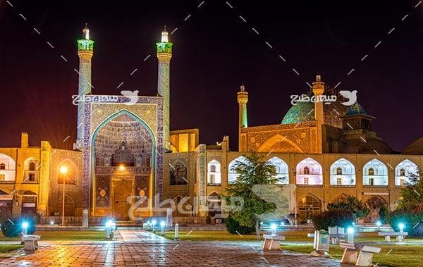 عکس مسجد شاه امام اصفهان