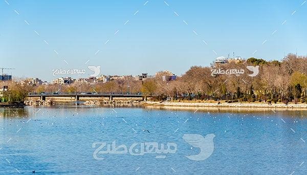 عکس زاینده رود اصفهان