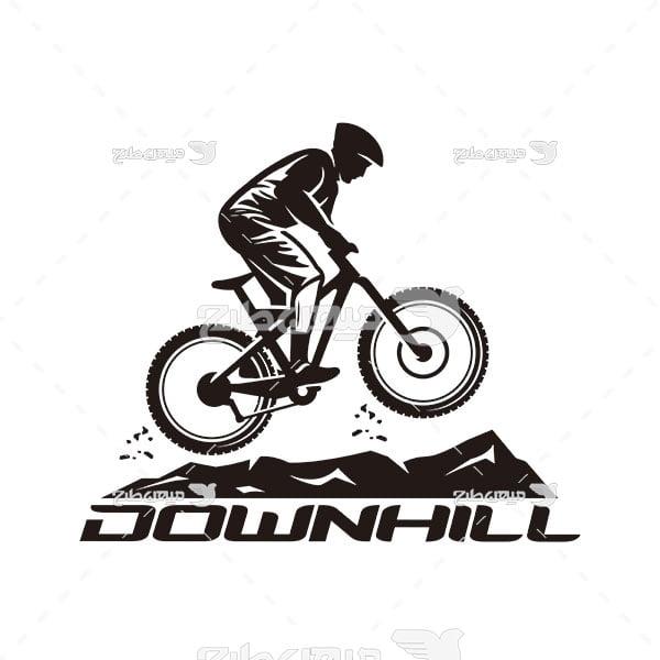 لوگو و آیکن ورزش دوچرخه سواری
