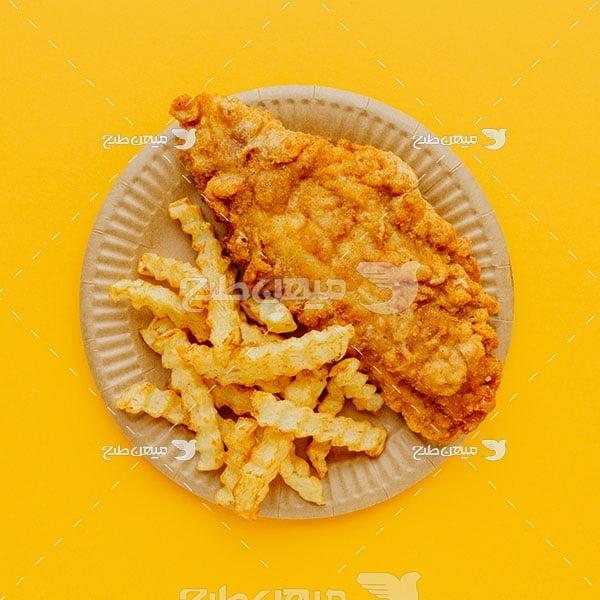 عکس مرغ سوخاری