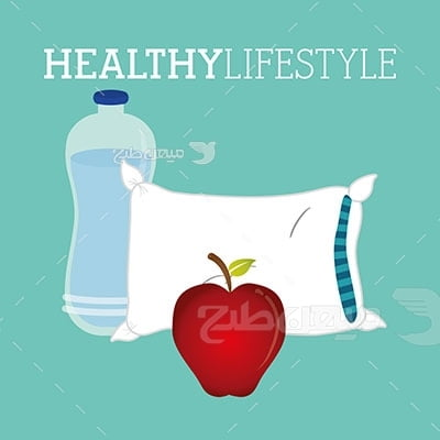 وکتور ورزش و بدن مناسب