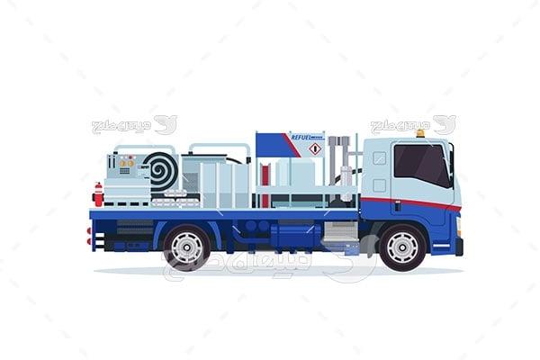 وکتور کامیون صنعتی
