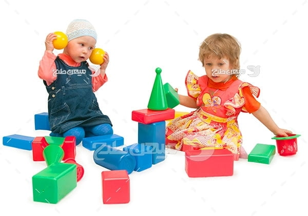 عکس تبلیغاتی پسر بچه و دختر بچه