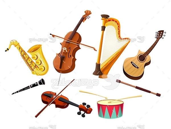 وکتور سازهای موسیقی