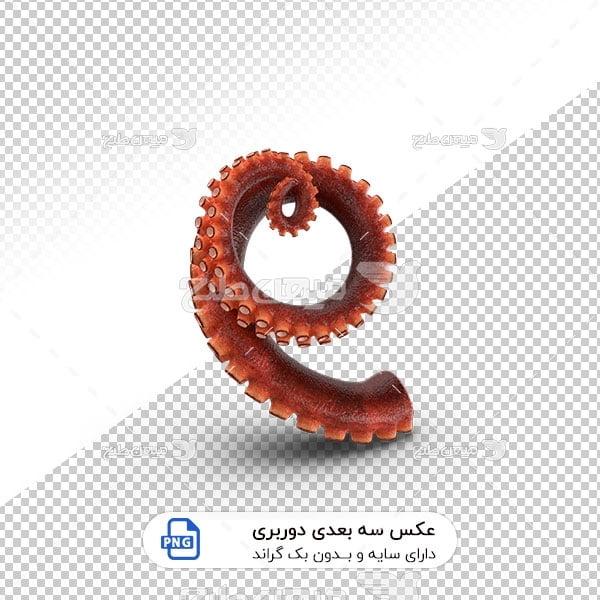 عکس برش خورده سه بعدی پایه اختاپوس