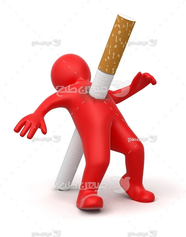 عکس سیگار دشمن انسان