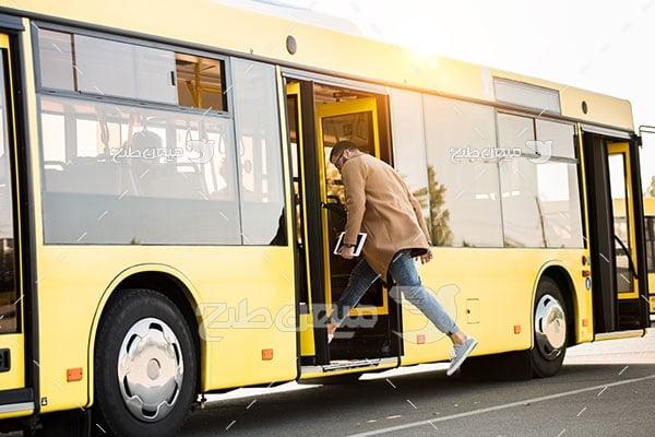 عکس اتوبوس شهری
