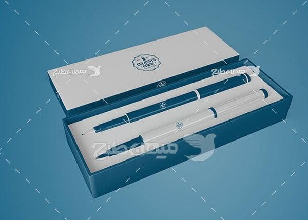 موکاپ بسته بندی خودکار