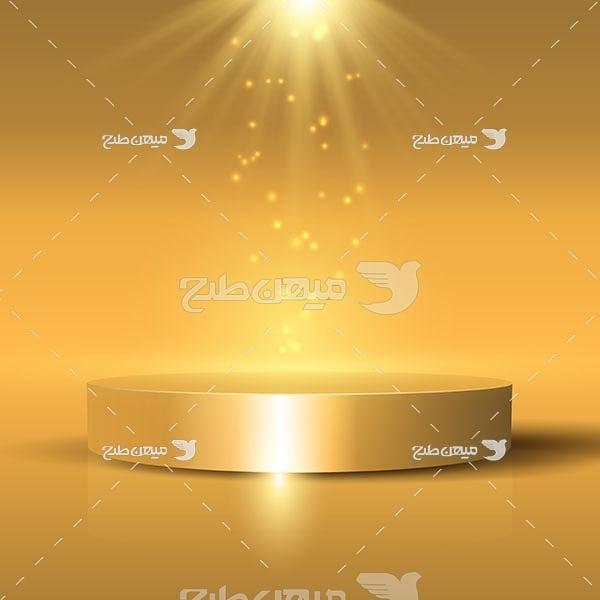 وکتور کاراکتر المان نور خورشید