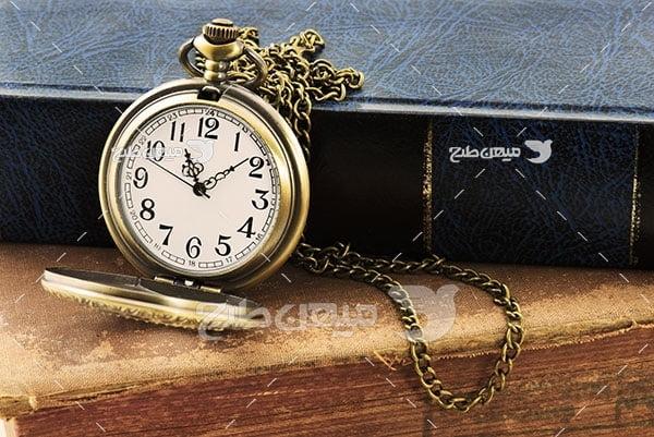 عکس ساعت جیبی طلا