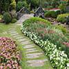 عکس باغ پر گل