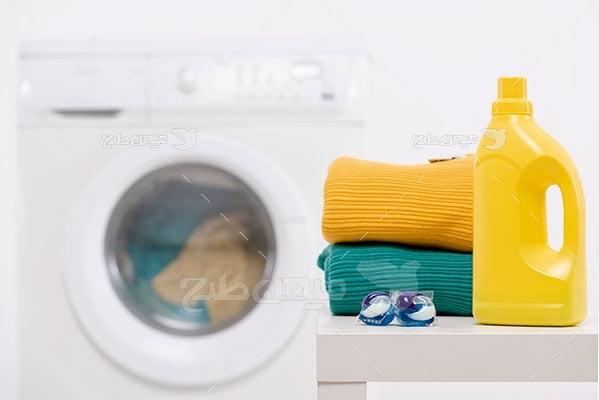 عکس تبلیغاتی شویندگی خشکشویی
