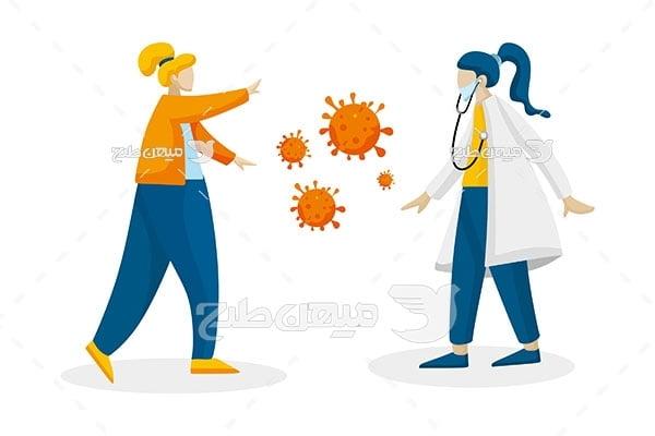 وکتور راه های ابطلاع به ویروس