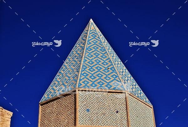 عکس مسجد جامه شهر نطنز اصفهان