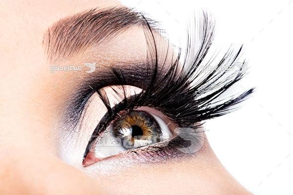 عکس آرایش چشم