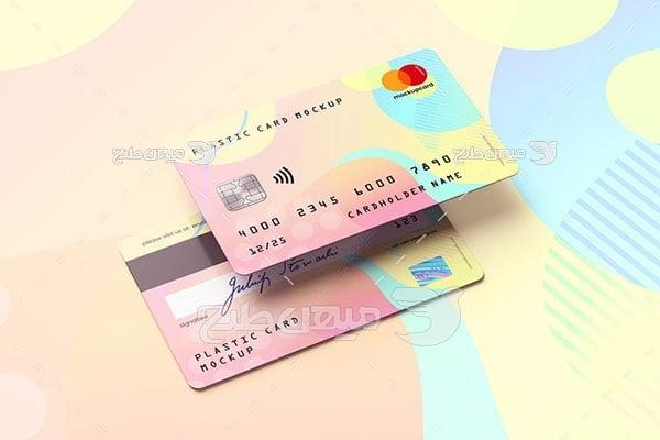 موکاپ طرح کارت بانکی