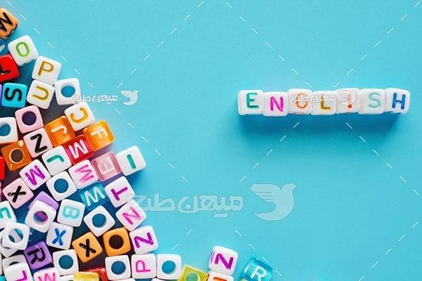 عکس شکل حروف انگلیسی
