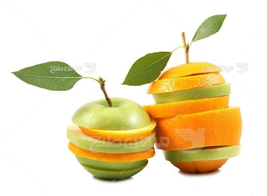 عکس تبلیغاتی غذا و برش میوه