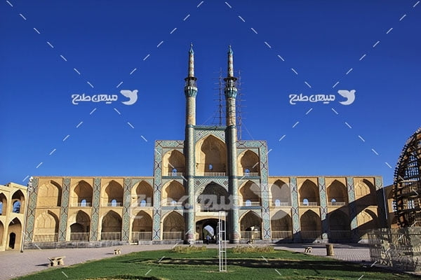 عکس  میدان امیر چخماق شهر یزد