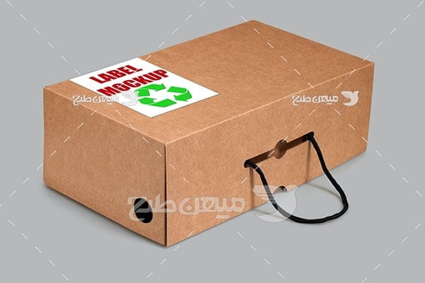 موکاپ جعبه دستگیره دار