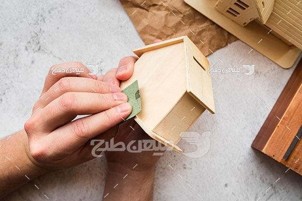 عکس طراحی ماکت خانه