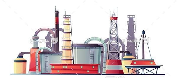 وکتور کارخانه تولیدات صنعتی