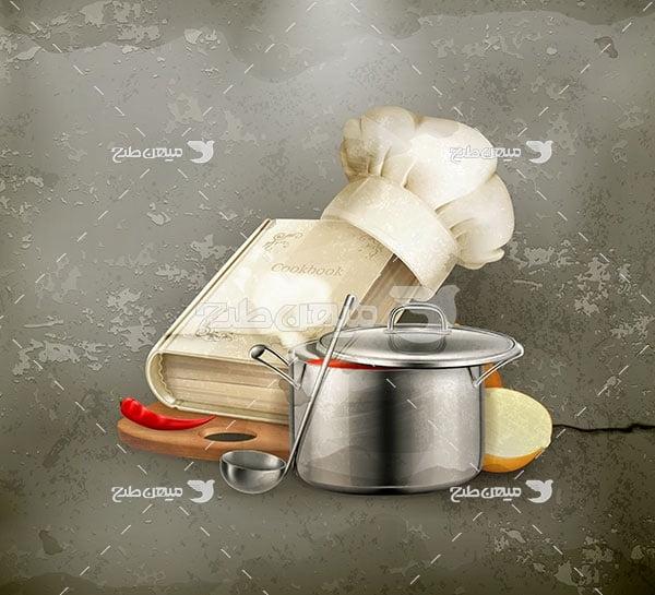 وکتور آشپزی و پخت و پز