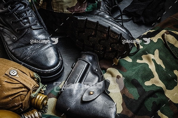 عکس تجهیزات سربازی