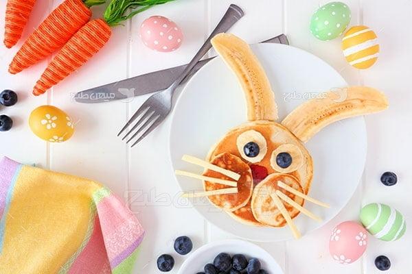 عکس تبلیغاتی غذا دسر
