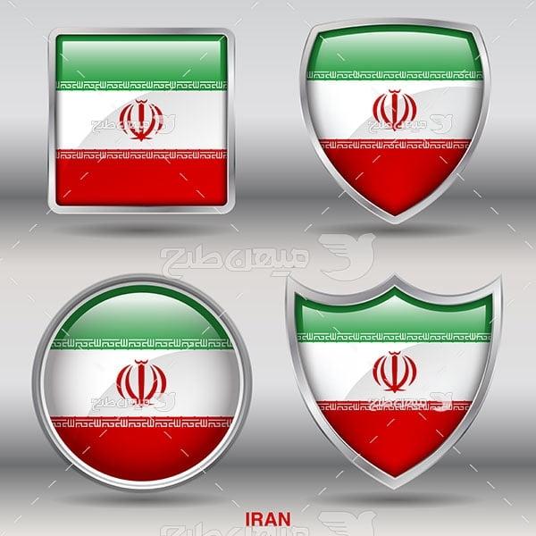 وکتور لوگو کشور ایران