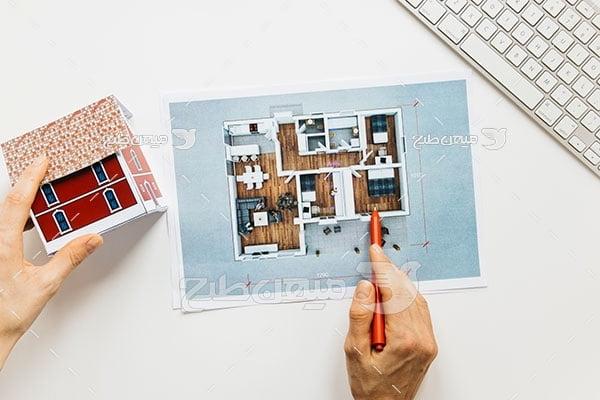عکس تبلیغاتیطراحی ساختمان