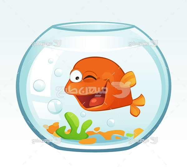 وکتور ماهی قرمز