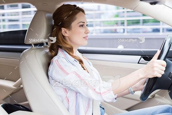 عکس رانندگی با خودرو
