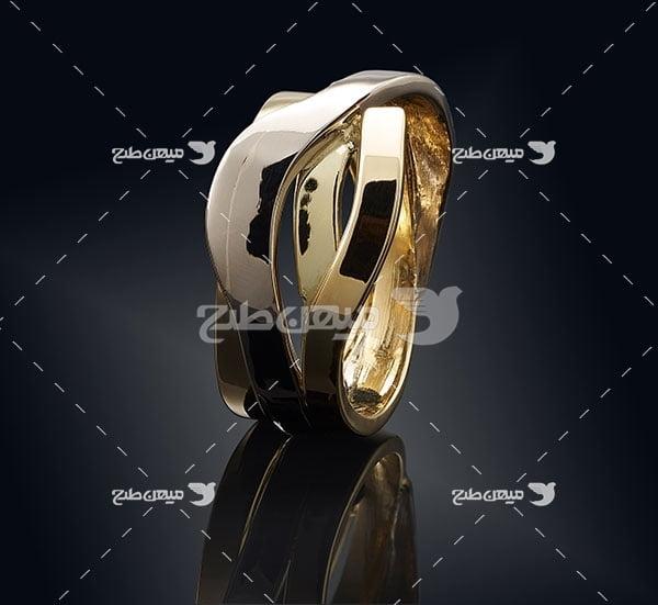 عکس تبلیغاتی جواهرحلقه طلا