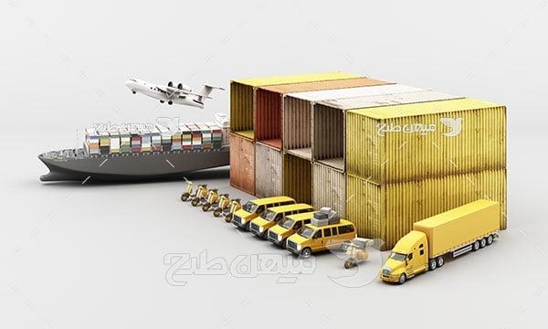 عکس صنعت حمل و نقل