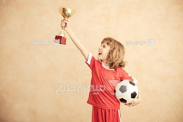 عکس جام قهرمانی فوتبال خردسالان