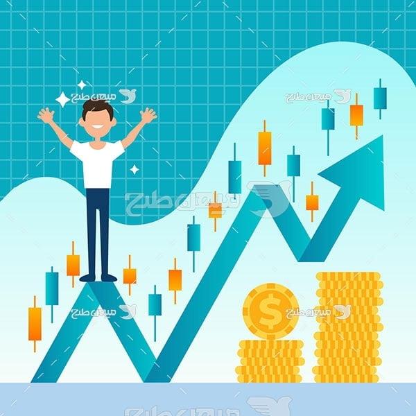 وکتور رشد اقتصادی سهام