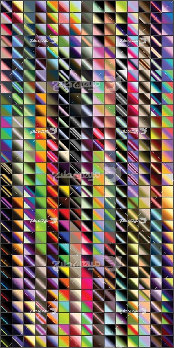 مجموعه ابزارهای فتوشاپ گرادینت ترکیب کم رنگ و پر رنگ