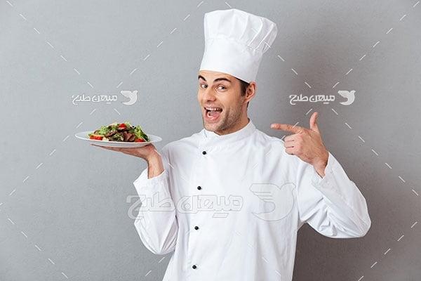 عکس آشپز حرفه ای