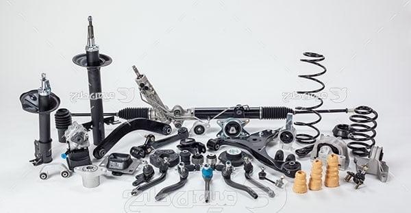 عکس تبلیغاتی قطعات موتور ماشین