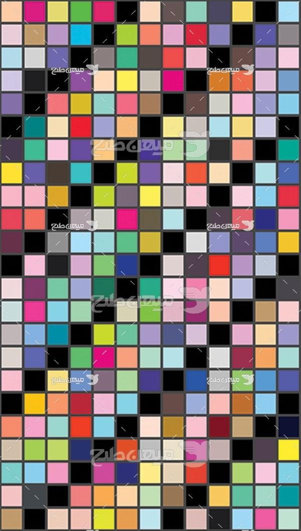 مجموعه ابزارهای فتوشاپ کد طیف رنگی