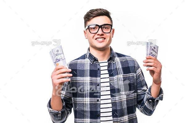 عکس موفقیت و پول