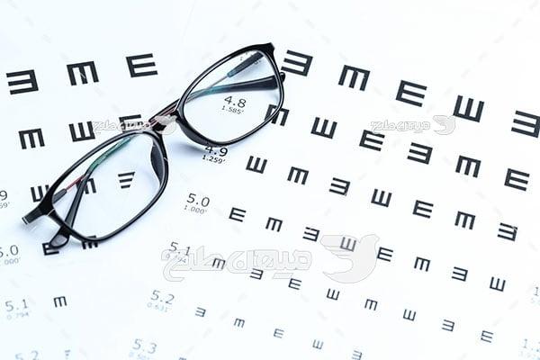 عکس تست بینایی سنجی