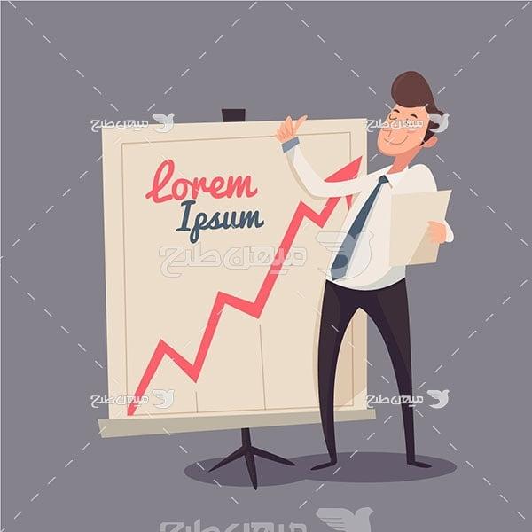 وکتور رشد اقتصادی بورس
